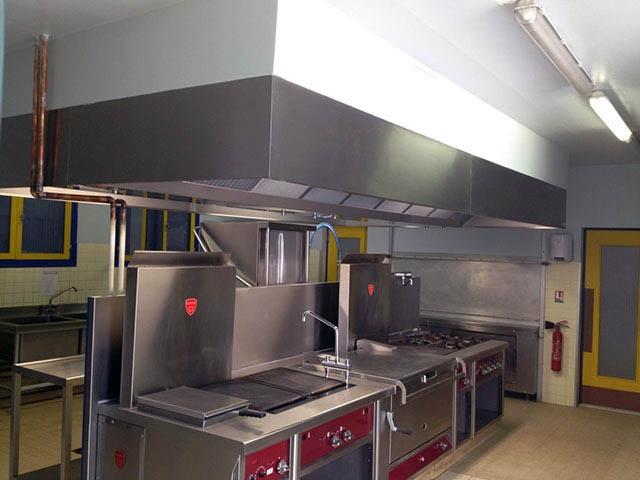 Hotinstall installation hotte professionnelle paris - Nettoyage de hotte de cuisine professionnel ...